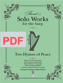 Two Hymns of Peace - solo PDF