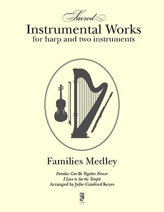 Families Medley - harp and two instruments