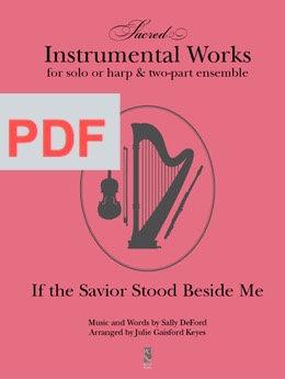 If the Savior Stood Beside Me - PDF