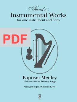 Baptism Medley - Harp and 1 instrument