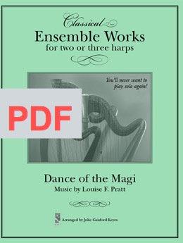 Dance of the Magi (Pratt) - 2 to 4 harps