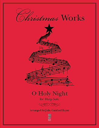 O Holy Night - harp solo