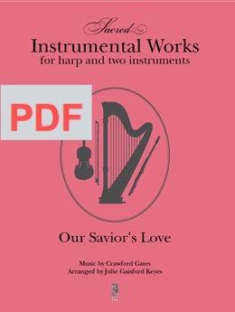 Our Savior's Love - harp & 2 instrumental