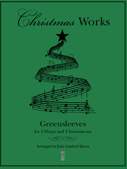Greensleeves- 2 harps and 2 Instruments