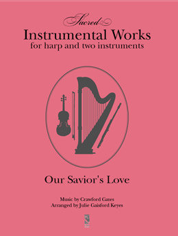 Our Savior's Love - harp & 2instr