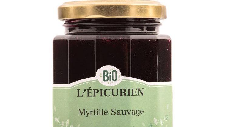 Confiture Myrtille Sauvage 210G