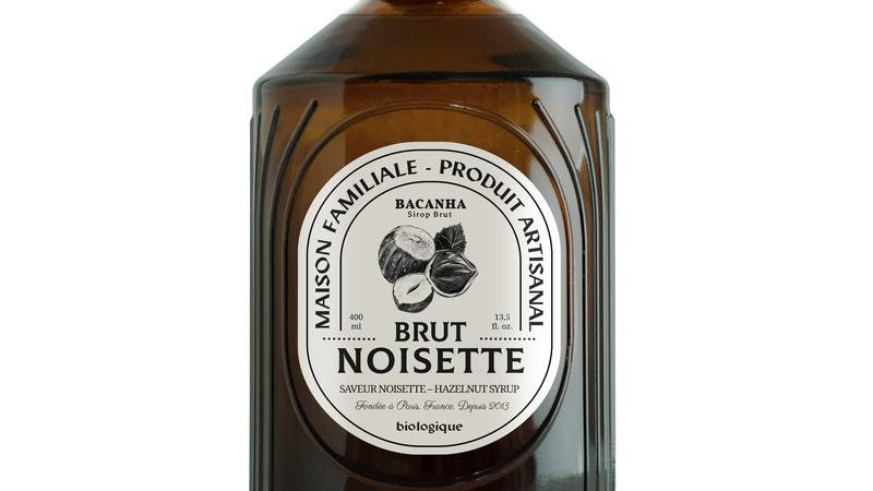 Sirop Noisette Grillée 400ml