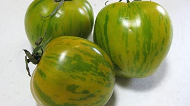 Tomate Green Zebra portion 650g