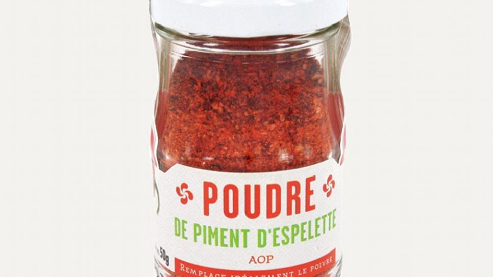 Piment d'Espelette Poudre en Pot AOP