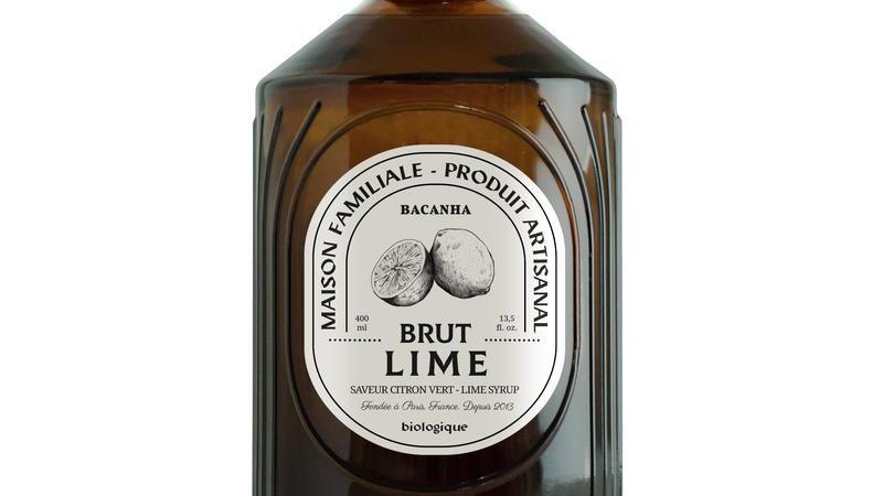 Sirop Lime (Citron Vert) 400ml