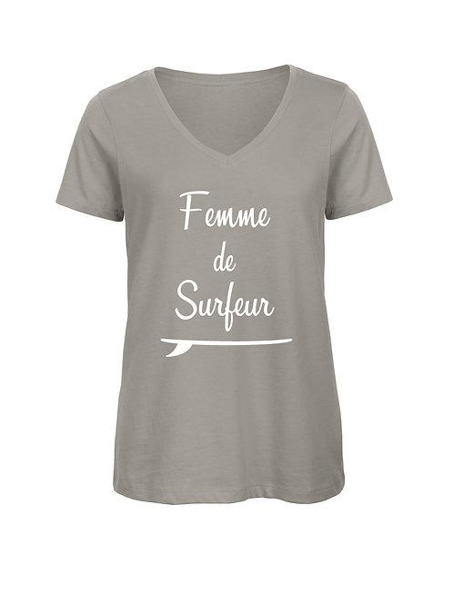 Tshirt Femme de surfeur V