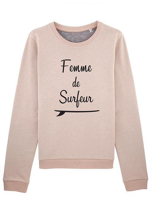 Sweatshirt Femme de Surfer