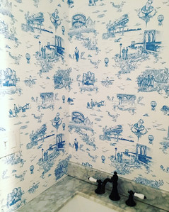 """""""brooklyn toile"""" by Flavor Paper"""