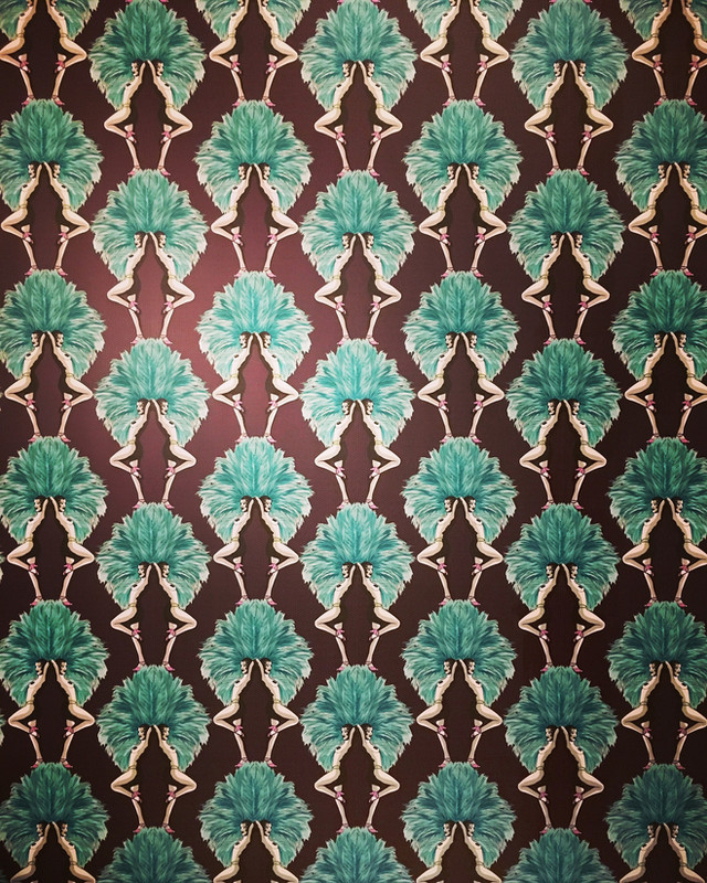 Graduate Collection Wallcovering by Melissa Scott - Showgirls