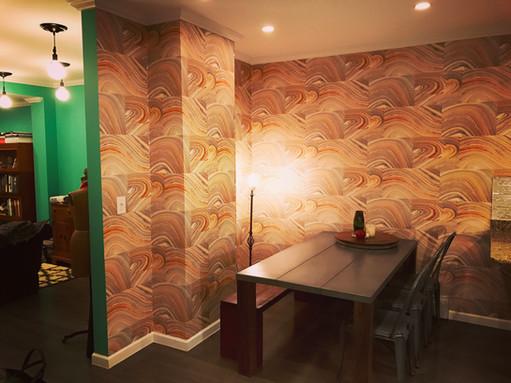 Cross Grain Wallpaper designed by Candice Olson - York Wallcovering