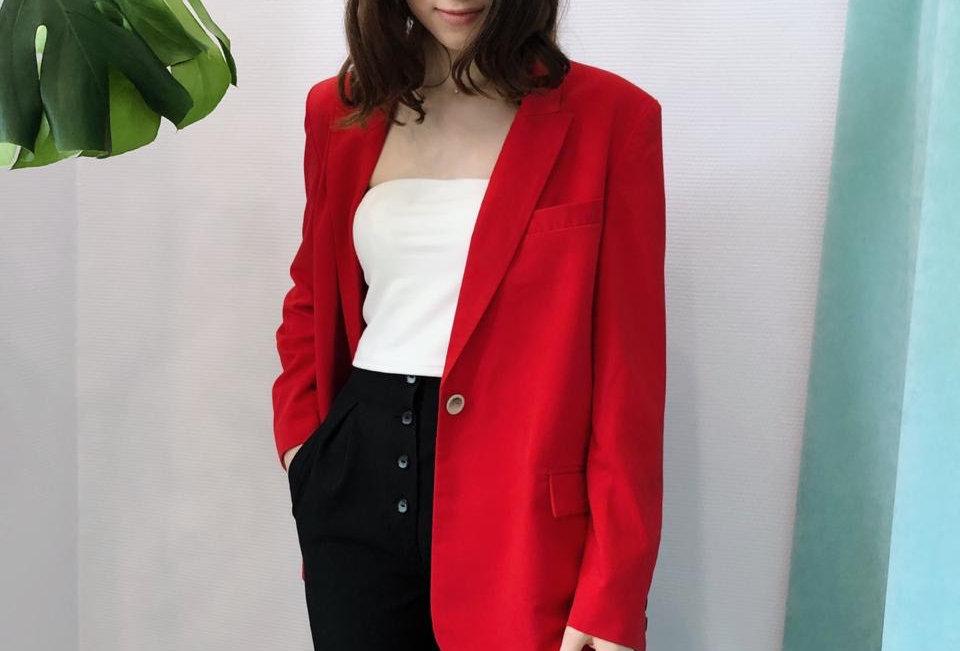 Пиджак в мужском стиле