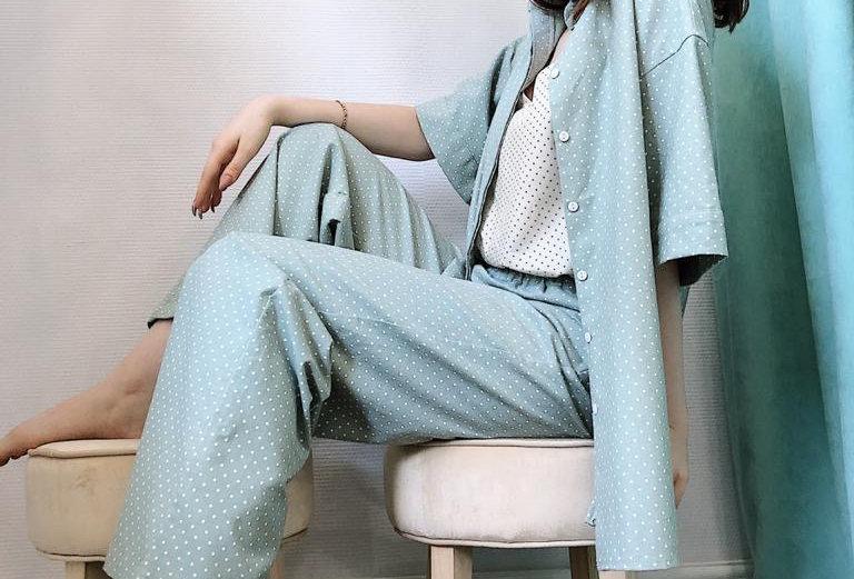 Рубашка пижамная из фланели