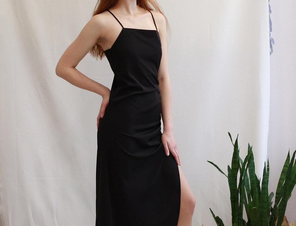 Платье комбинация с кулиской