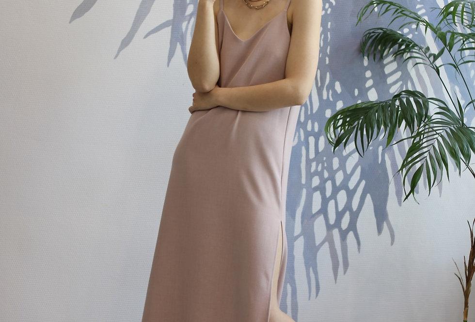 Платье комбинация из плотной Ткани