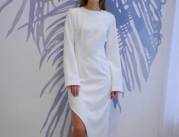 Платье ассиметричное