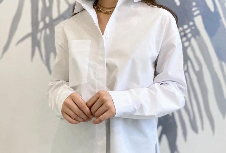 Рубашка с петлей из хлопка