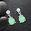 Thumbnail: Green Opal Earrings
