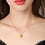 Thumbnail: Citrine Rose Gold Necklace