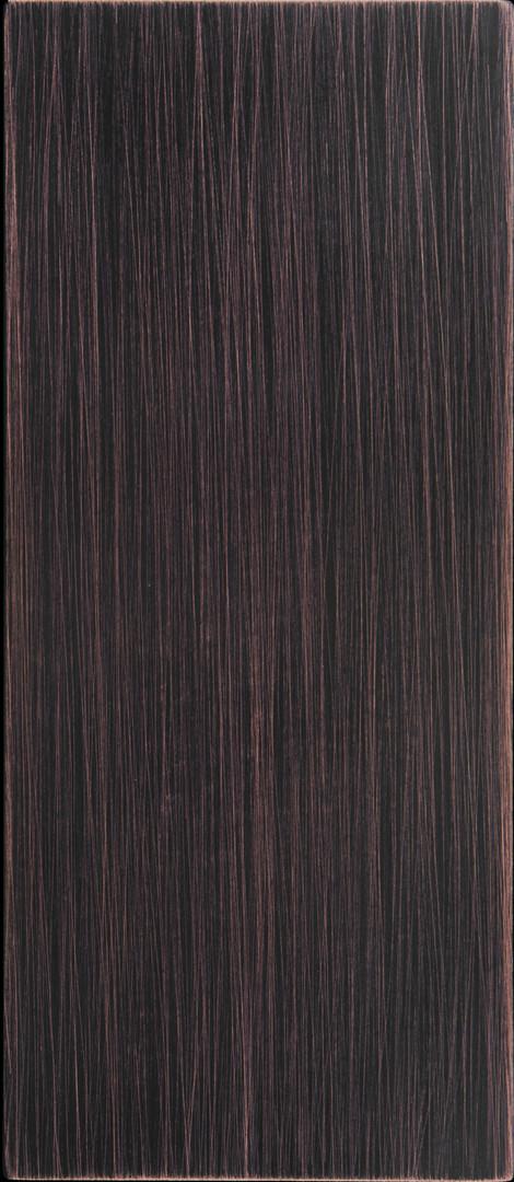 kupfer - gealtert - haarschliff - dezent
