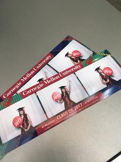 photo strips from Carnegie Grad