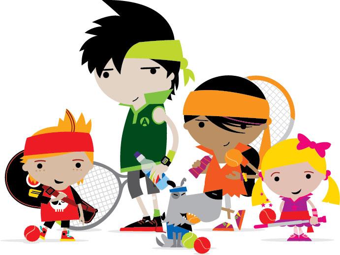LTA Mini Tennis Gang_Tight