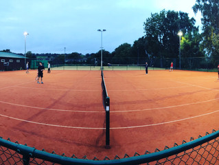 Everyone loves the new courts!