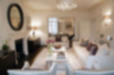 The luxury interior design by Catherine Wilman Interiors in Kensington, West London. The client was looking for an interior design company in London capable of project managing the renovation.