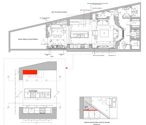 Plans for basement excavation in Chelsea