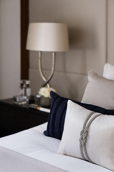 master bedroom kingsize bespoke headboar