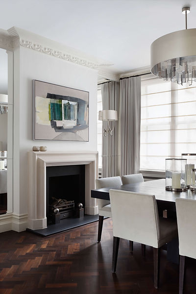 dining room renovation Kensington