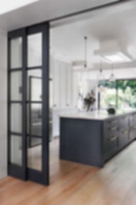 Maida Vale interior design kitchen island