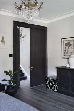 Extra Tall Bedroom Doors in bedroom