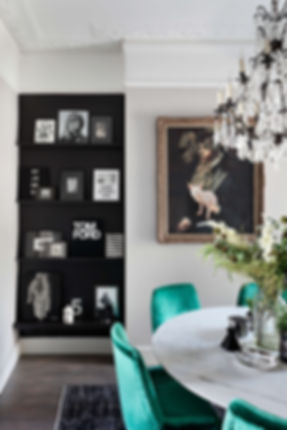 Shepherd's Bush interior designer Catherine Wilman Interiors'  contemporary home
