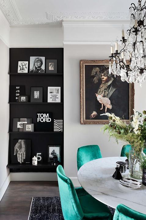 Shepherd's Bush interior designer Catherine Wilman Interiors'  contemporary home