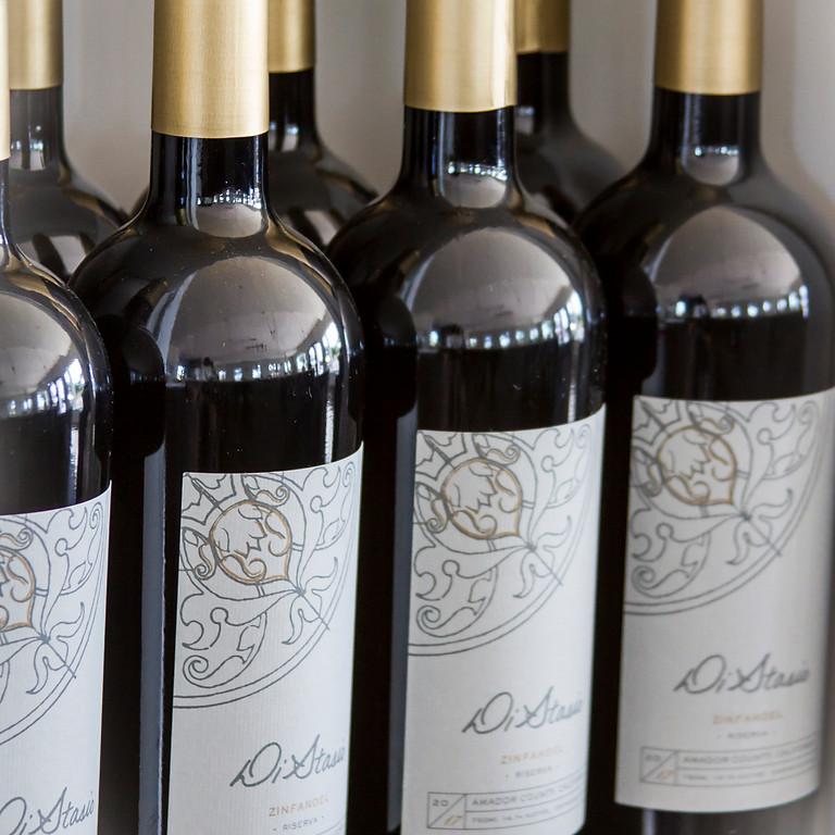 DiStasio Vineyards Virtual Seminar - Zinfandel side by side tasting