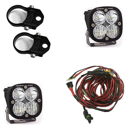 LED Light Pods 1.75 pr 2 Inch Harness Vertical or Horizontal Mounts Kit