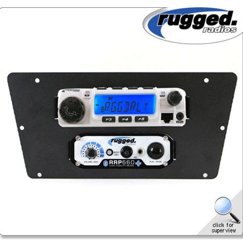 Radio Mount for Yamaha YXZ