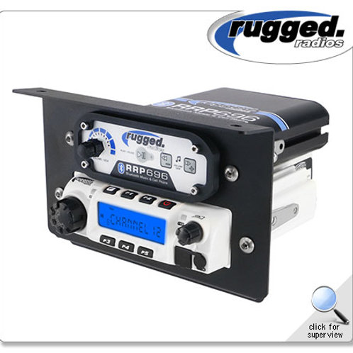 RM-60 Radio & Intercom Mount for Polaris RZR XP1000