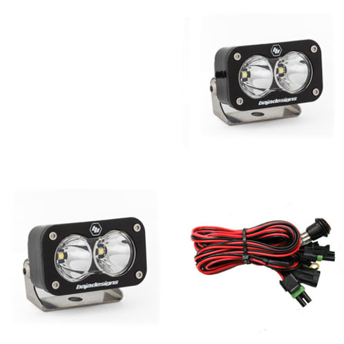 LED Light Pods various Pattern Pair S2 Pro Series Baja Designs
