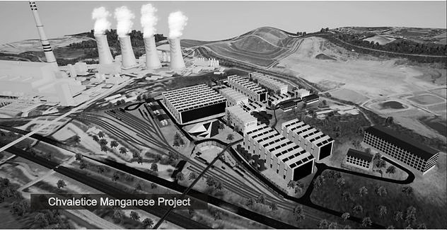 Chvaletice Manganese Project