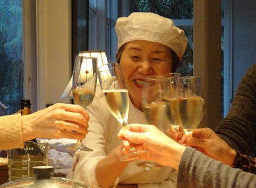 We celebrated New Year with Chakaiseki
