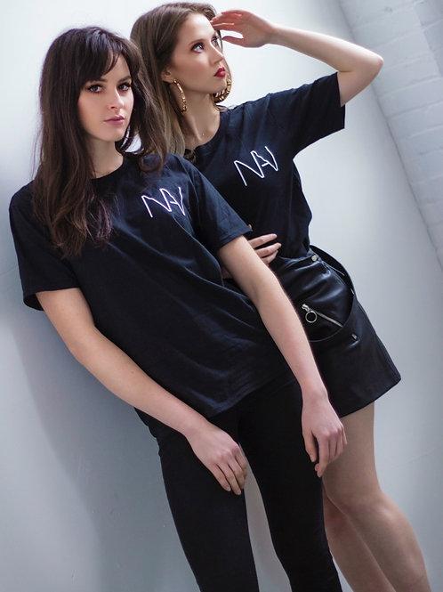 NINA Logo Tee (Black)
