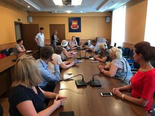 Встреча с общественными советниками Управы Басманного района г. Москвы