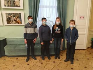 26 декабря ребята посетили театр