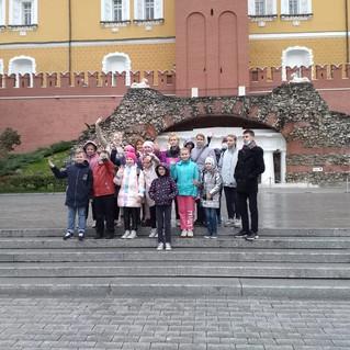 Экскурсия по г. Москве для подростков из кризисных семей